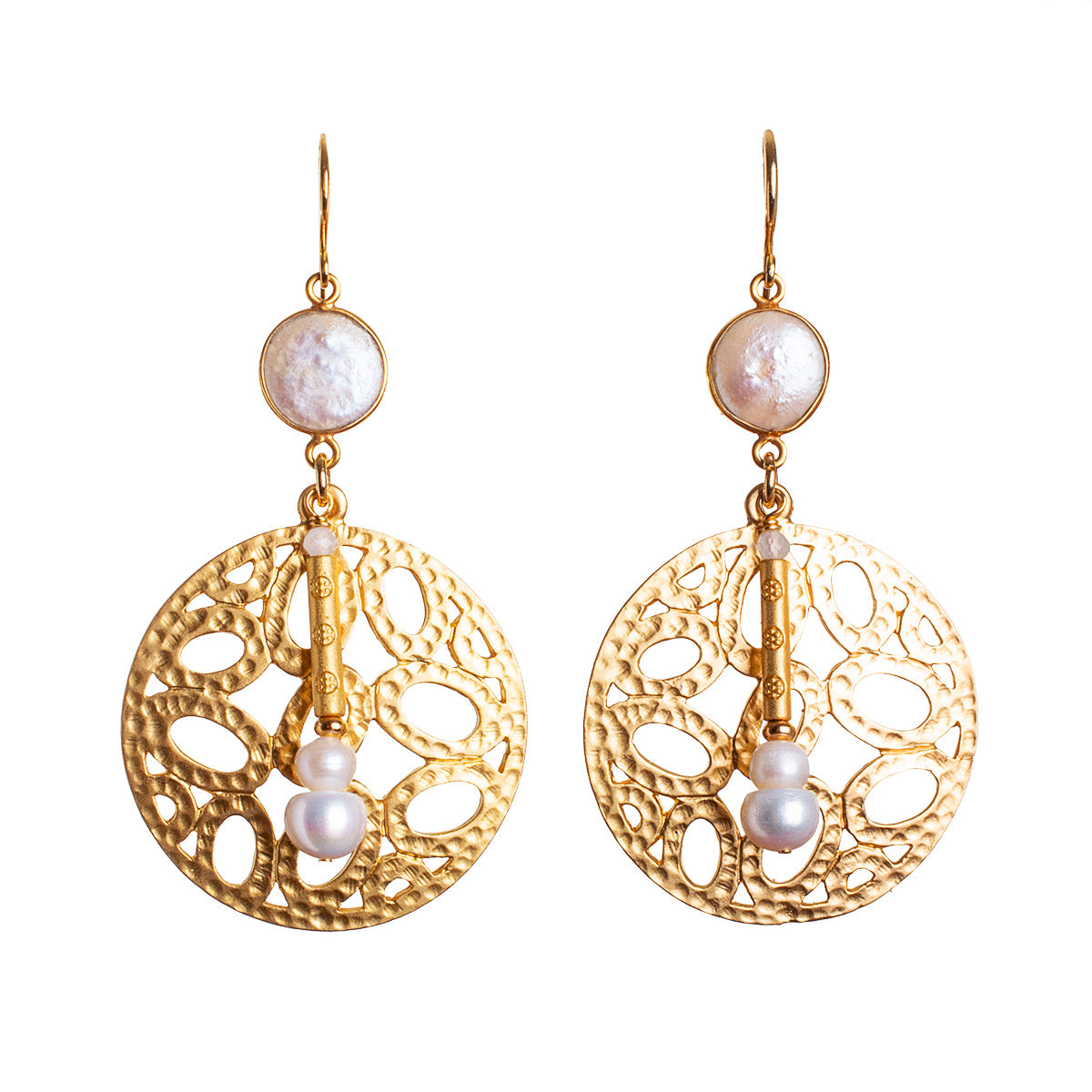 N°682 The Magic Pearl Hour Statement Earrings