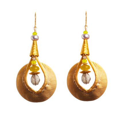 N°468 The 3-Tails Magic Emporium Statement Earrings