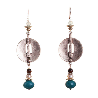 N°473 The Irresistible ice Harvest Statement Earrings
