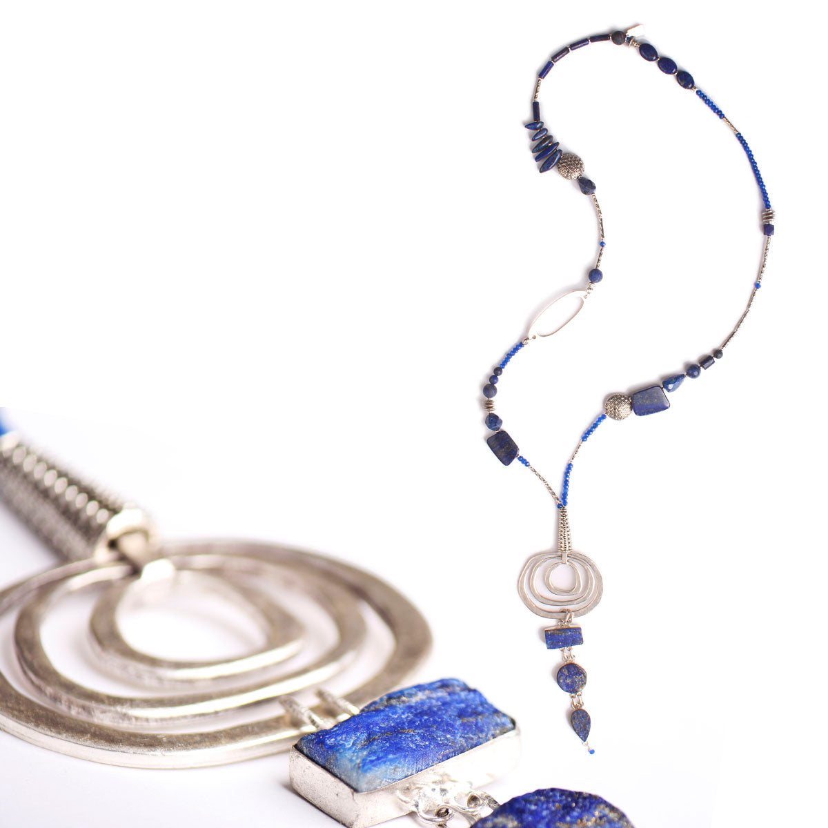N°520 The Lapis Lazuli Simplicity Contract Necklace