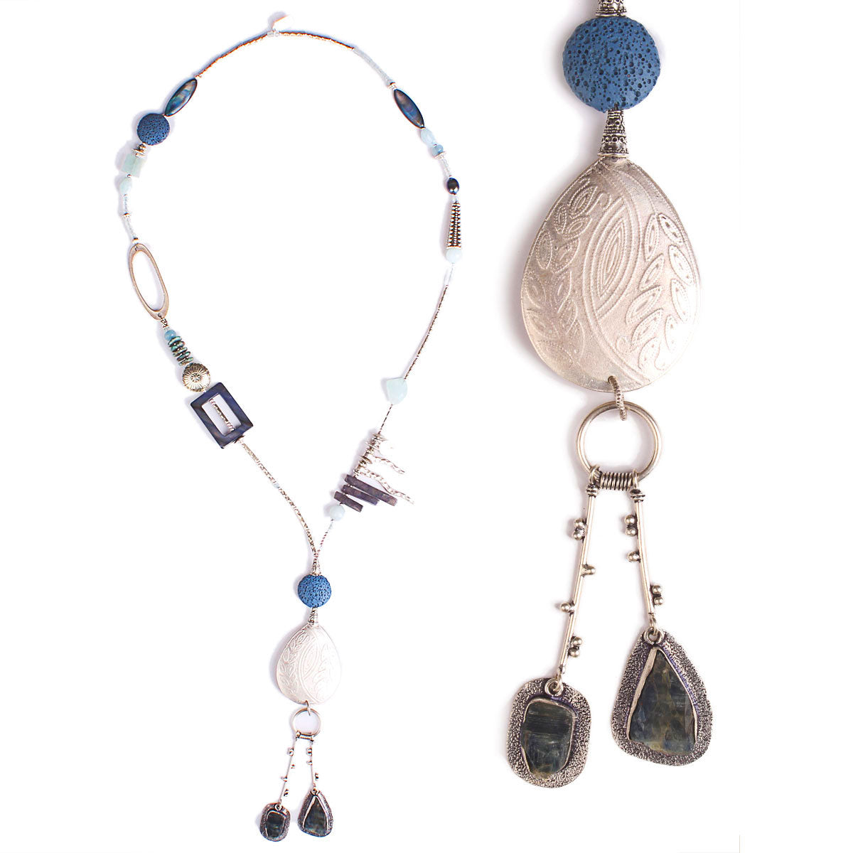 N°523 The Santa Fe Blue Bird Statement Necklace