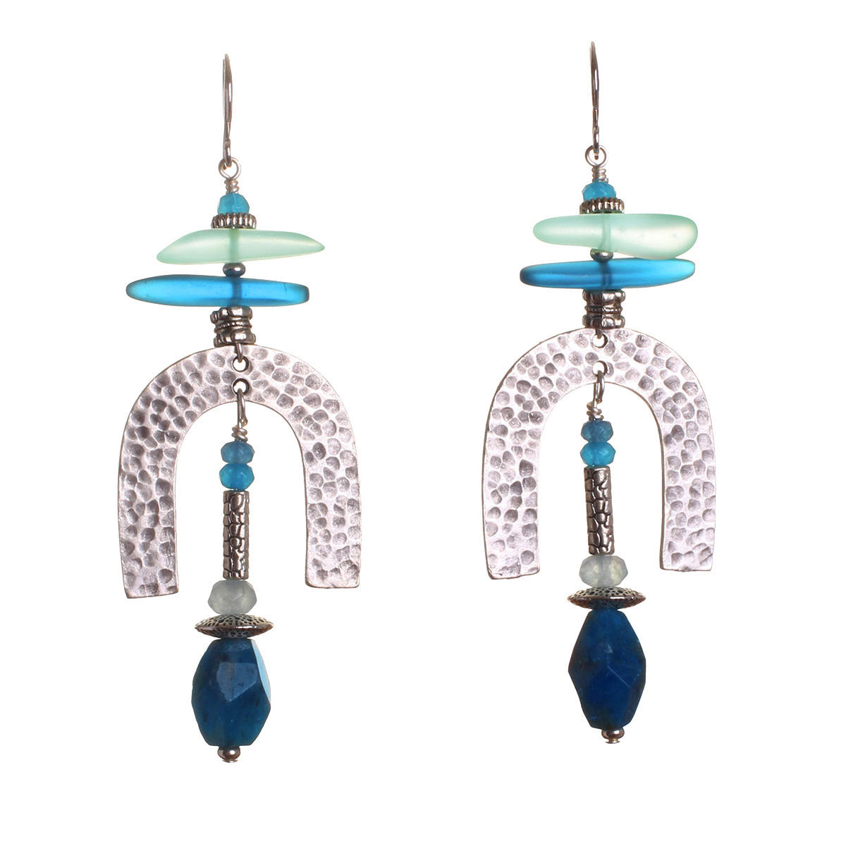 N°538 The Apatite Contagion of Optimism Statement Earrings