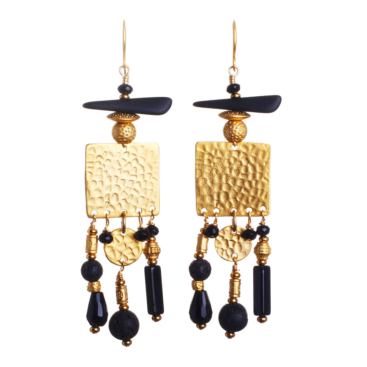 N°541The Night Sky Worship Statement Earrings