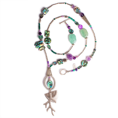 N°600 Love Letters from a Marine Biologist Statement Necklace