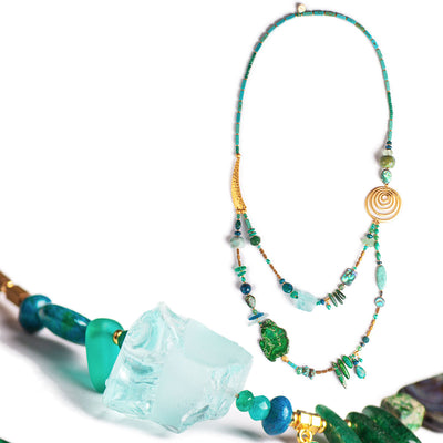 N°609 Pacifica Wild Things Statement Necklace