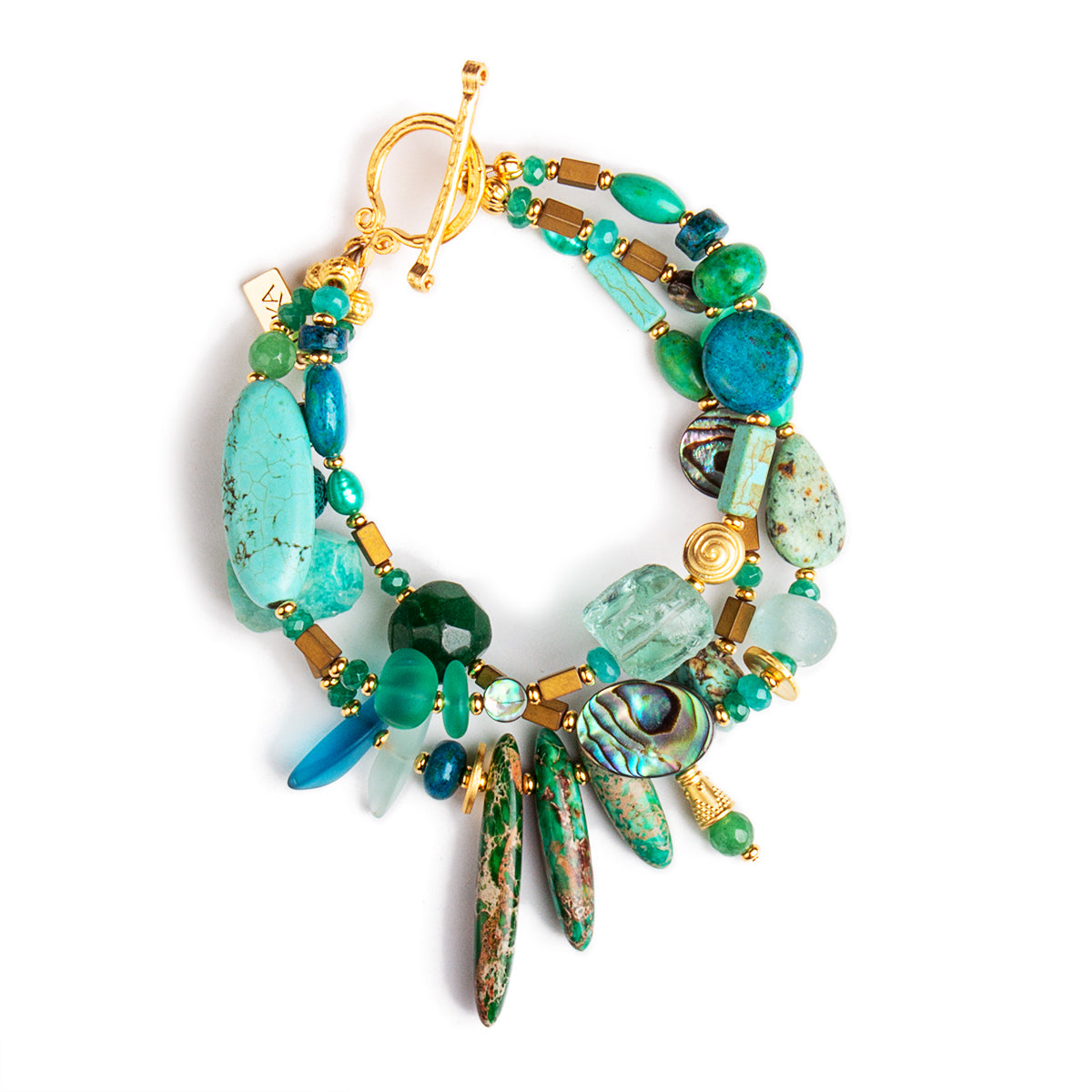 N°622 Pacifica Wild Things Statement Bracelet