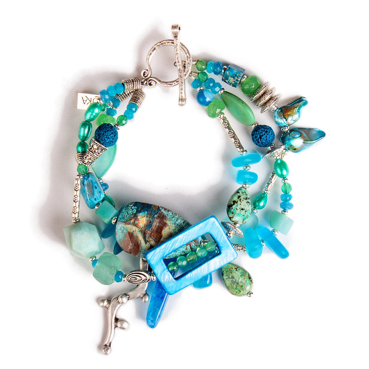 N°623 The Delicious Beach Guest List Statement Bracelet