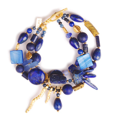 N°625 The Future is Blue Statement Bracelet