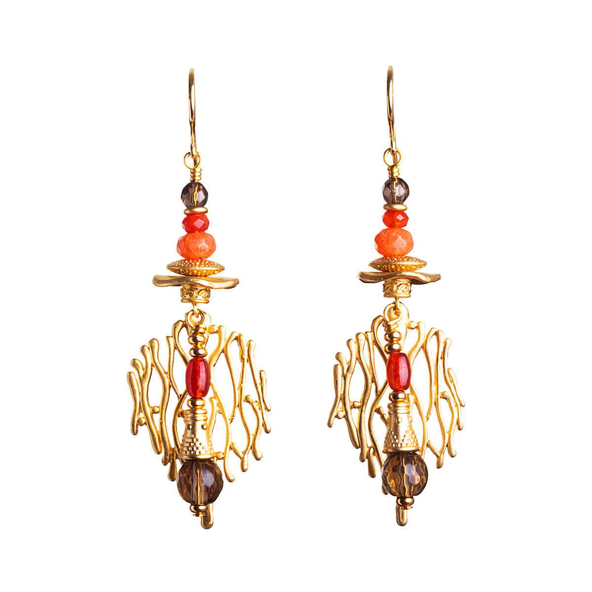 No638 Life on Mars Statement Earrings
