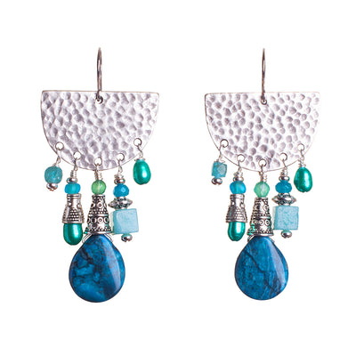 N°653 The Delicious Beach Guest List Statement Earrings