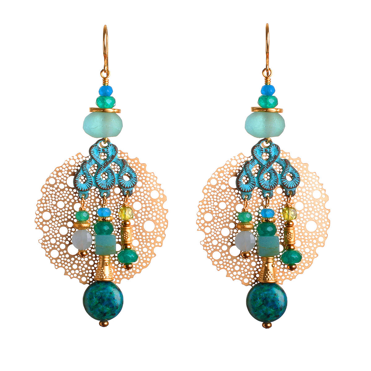 N°655 The Salty Soul & Urban Adventures Statement Earrings