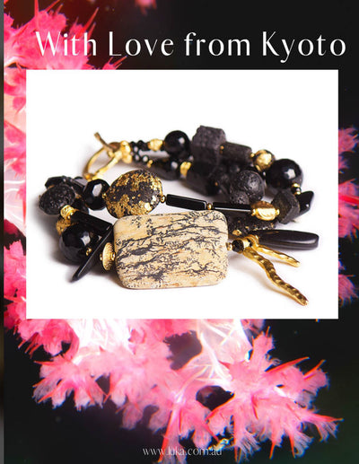 N°619 With Love from Kyoto Statement Bracelet
