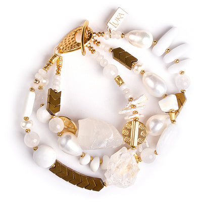 Snow White's Summer Vibes Statement Bracelet