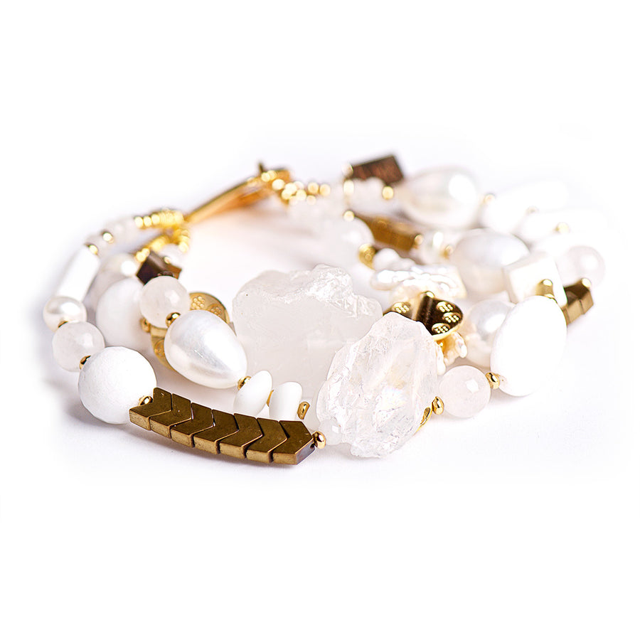 N°370/371/372 Snow White's Summer Vibes Statement Bracelet