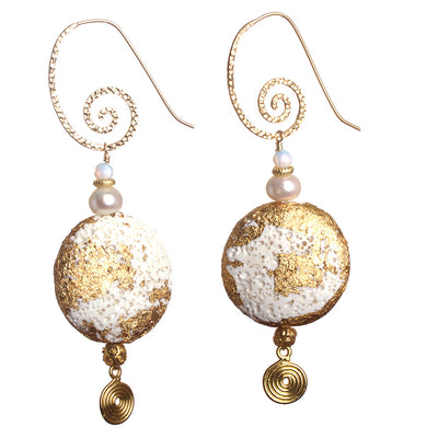 N°283 The Gilded Kalahari Statement Earrings