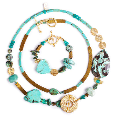 N°375 The Ocean Muse 7-way Statement Necklace