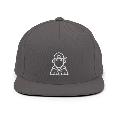 Kono Snapback Hat - Dark Grey