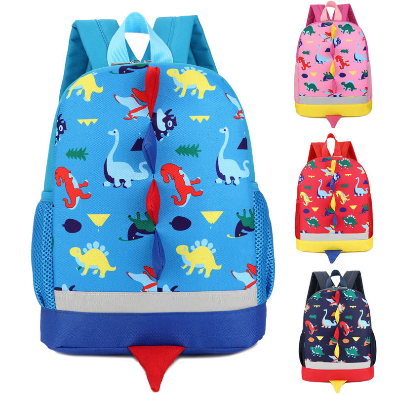 7d1ae7ce03 Cool Dinosaur Printing School Backpack Small Cute Kids Backpacks for Toddlers  Girls Boys ...