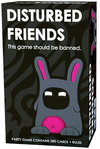 Disturbed Friends Fun Board Game For Friends Or Lovers