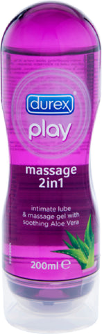 Play - 2in1 Aloe Vera (200ml) Lube Sex Toy Adult Pleasure Orgasm