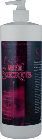Wet Stuff Secrets - Pop Top Bottle (1kg) Lube Sex Toy Adult Orgasm