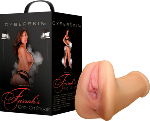 Farrah's Grip-On Stroker (Flesh) Sex Toy Adult Pleasure