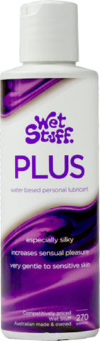 Wet Stuff Plus - Bottle (270g) Lube Sex Toy Adult Orgasm