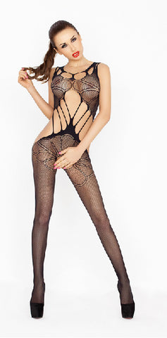 Bodysuit Fishnet With Large Holes