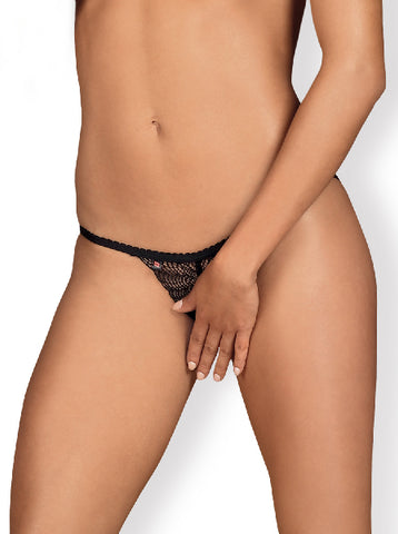 Chiccanta Thong Blk