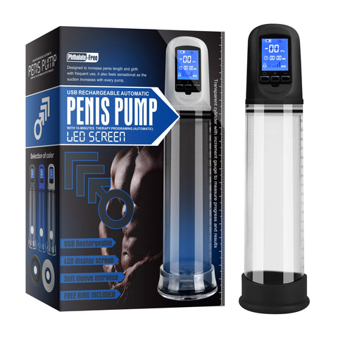 Luxury USB LCD Auto-Pump Clear