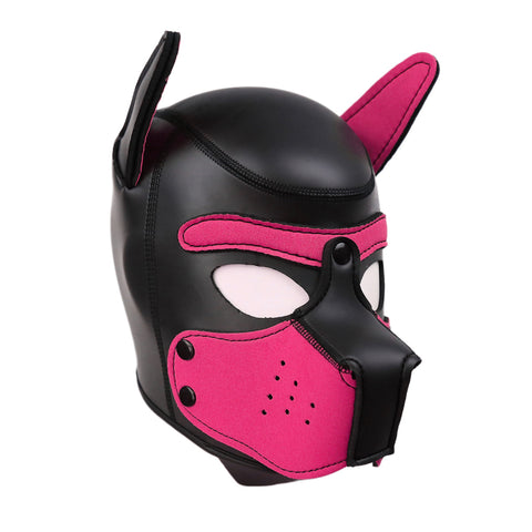 Puppy Play Mask Pink
