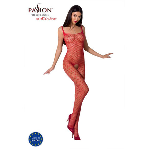 Bodystocking BS071 Red