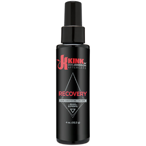Recovery - Sub Soothing Cream Sex Toy Adult Pleasure - 4 Oz.