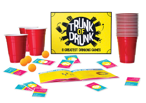 Trunk Of Drunk Fun Board Game For Friends Or Lovers