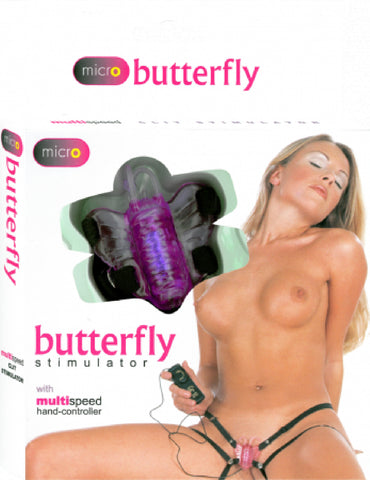 Micro Butterfly Stimulator (Lavender) Sex Toy Adult Pleasure