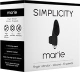 MARIE Finger Vibrator (Black) Sex Toy Adult Pleasure
