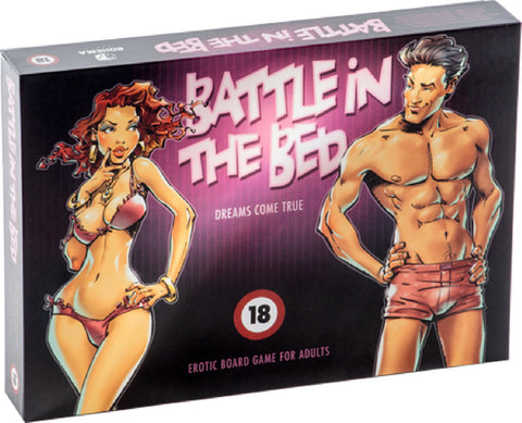 Battle In The Bed Sex Toy Adult Pleasure Board Game