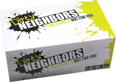 Dirty Neighbors Fun Board Game For Friends Or Lovers
