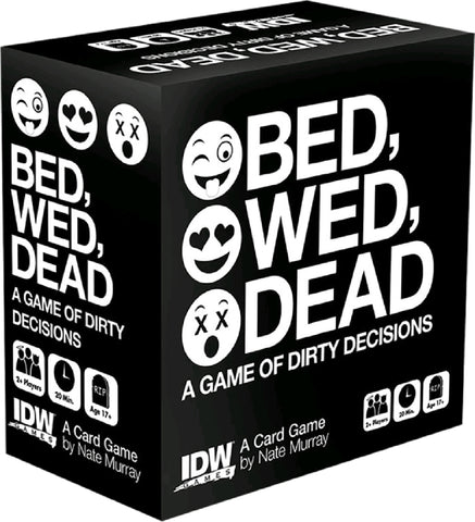 Bed, Wed, Dead, Fun Board Game For Friends Or Lovers