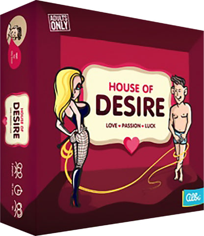 House Of Desire Fun Board Game For Friends Or Lovers