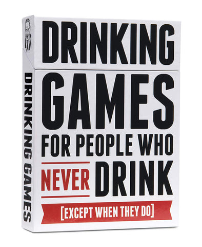 Drinking Games For People Who Never Drink Fun Board Game For Friends Or Lovers