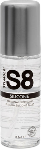 S8 Premium Silicone Lube 125ml Sex Adult Pleasure Orgasm