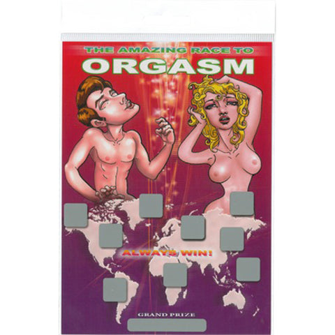 The Amazing Race To Orgasm Sex Adult Pleasure Orgasm
