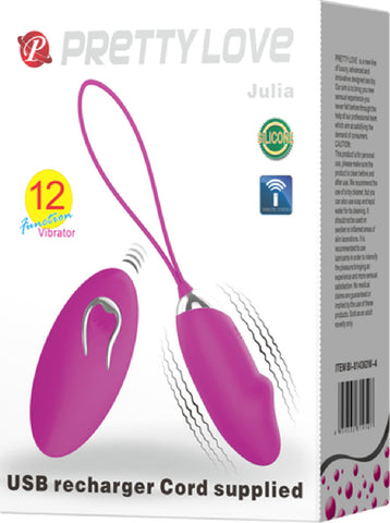 Julia (Purple) Sex Toy Adult Pleasure