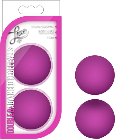 Double O Advanced Kegel Balls Sex Toy Adult Pleasure (Pink)