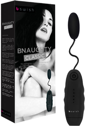 BNAUGHTY Classic Multi Function Vibrator Sex Pleasure Toy by Bswish Black (Black)