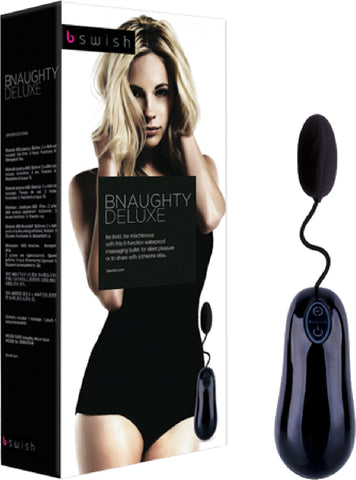 BNAUGHTY Deluxe Multi Function Vibrator pleasure Sex Toy by Bswish (Black)