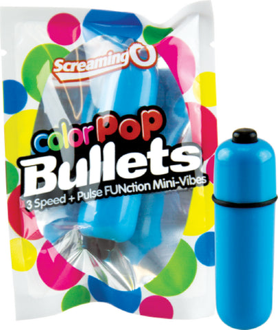 ColorPoP Bullet (Blue) Sex Toy Adult Pleasure