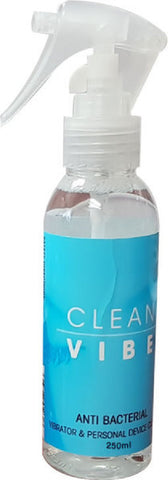 Clean Vibe Trigger Bottle (250ml) Sex Toy Adult Pleasure