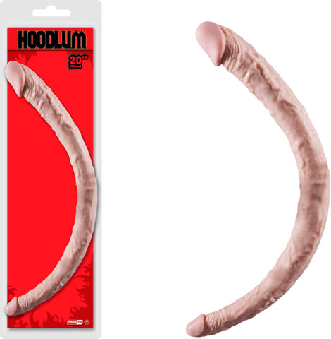 "20"" Double Dong Sex Toy Adult Pleasure (Flesh)"
